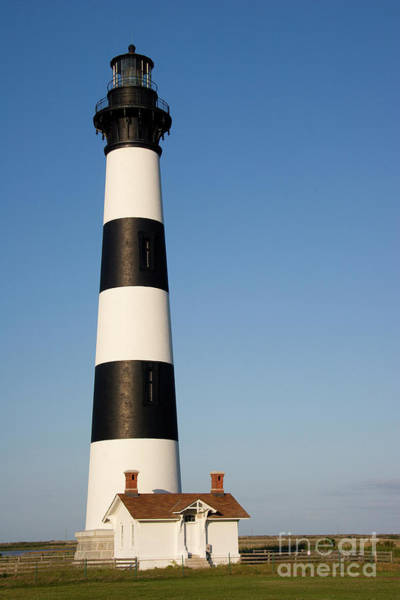 Photograph - Lighthouse In The Outer Banks by Jill Lang
