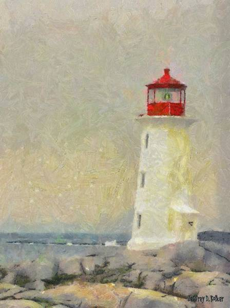 Painting - Lighthouse by Jeffrey Kolker