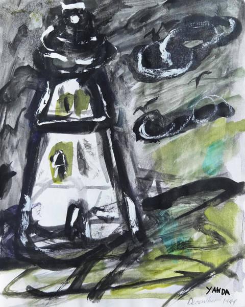Mixed Media - Lighthouse by Katt Yanda