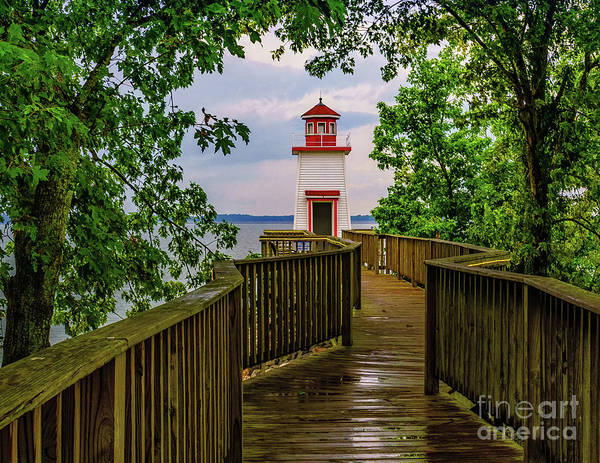 Photograph - Lighthouse Landing - Kentucky by Nick Zelinsky