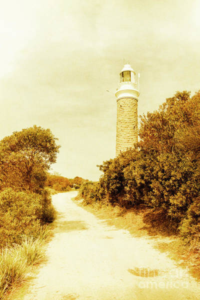 East Point Photograph - Lighthouse Lane by Jorgo Photography - Wall Art Gallery