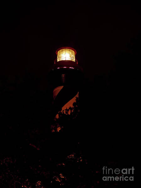 Photograph - Lighthouse Night Of Lights by D Hackett