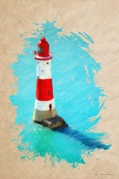 Digital Art - Lighthouse No.4 by Serge Averbukh