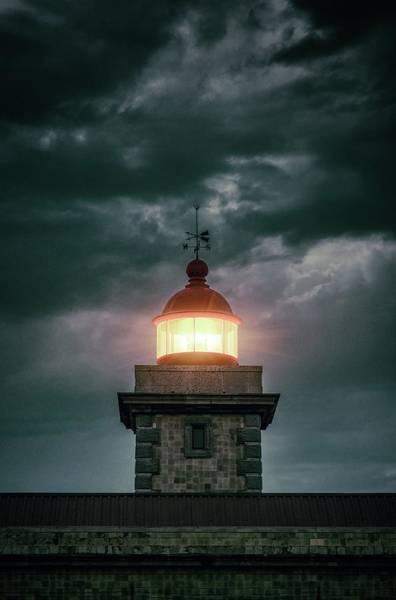 Wall Art - Photograph - Lighthouse Of Ponta Da Piedade by Carlos Caetano