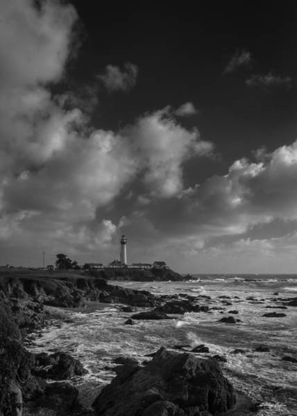 Photograph - Lighthouse On Half Moon Bay by Alexander Fedin