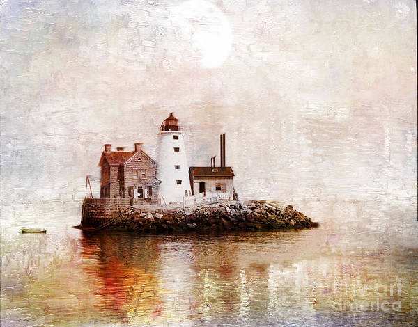 Photograph - Lighthouse On Island by Carlos Diaz