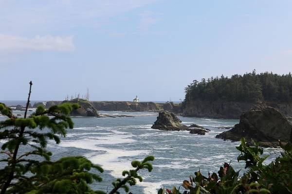 Photograph - Lighthouse On The Oregon Coast - 2 by Christy Pooschke