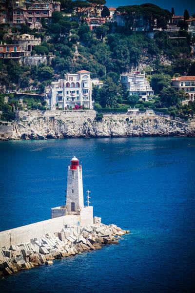 Photograph - Lighthouse Over Blue by Jason Smith