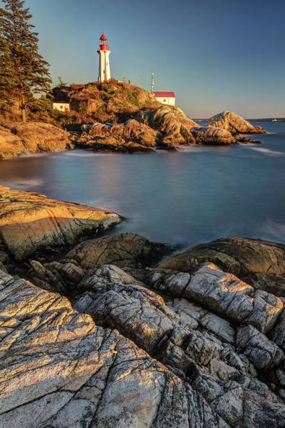 Photograph - Lighthouse Park Sunset West Vancouver by Pierre Leclerc Photography