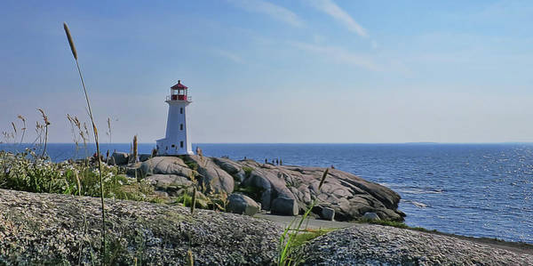 Photograph - Lighthouse Peggy's Cove by Tatiana Travelways
