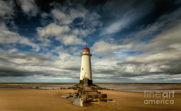 Photograph - Lighthouse Point Of Ayre by Adrian Evans