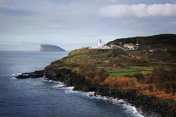 Photograph -  Lighthouse Ponta Das Contendas  by Kelly Hazel
