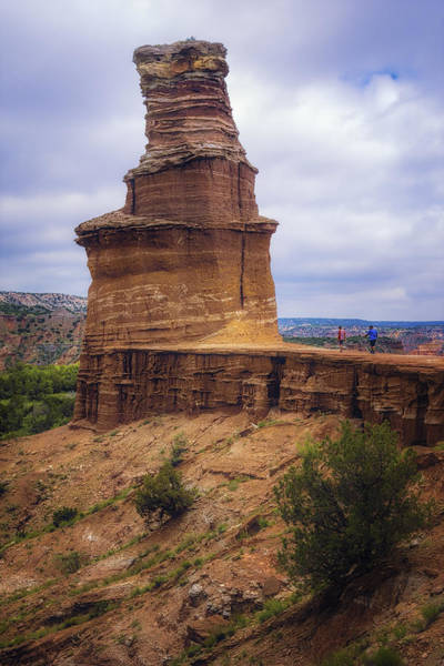 Photograph - Lighthouse Rock by Joan Carroll