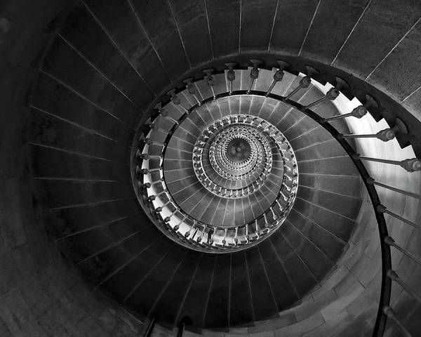Photograph - Lighthouse Spiral Staircase by Gigi Ebert