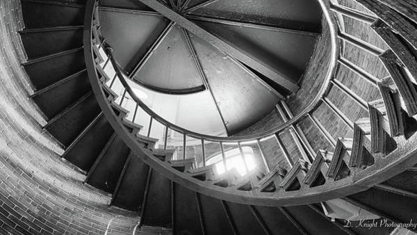 Photograph - Lighthouse Stairs by Dillon Kalkhurst