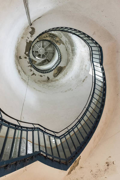 Photograph - Lighthouse Stairs by Gary Eason