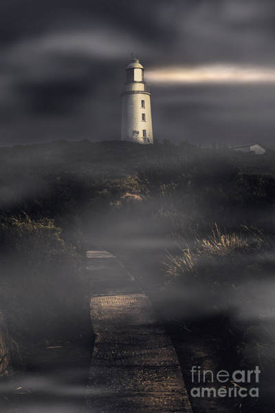 Wall Art - Photograph - Lighthouse Way by Jorgo Photography - Wall Art Gallery
