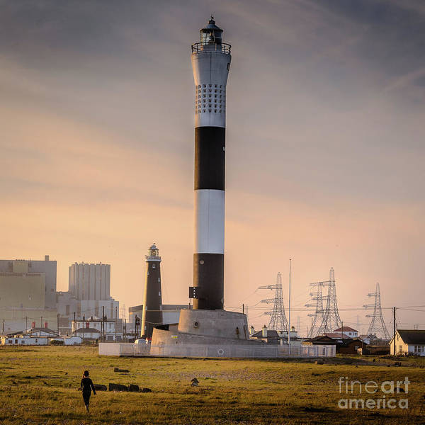 Photograph - Lighthouses, Dungeness Beach by Perry Rodriguez