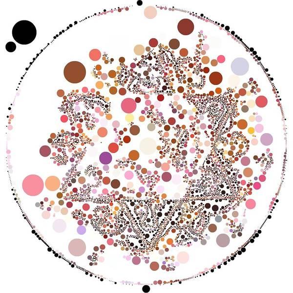 Digital Art - Lightmandala 6 Star Morph 2 by Robert Thalmeier