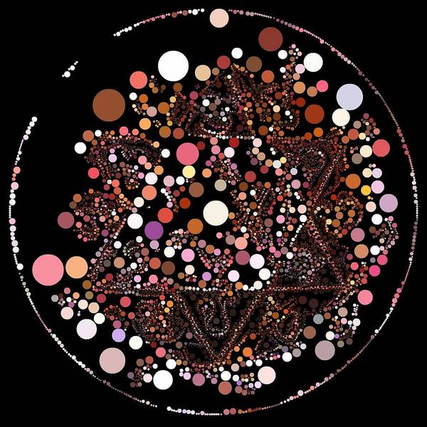 Digital Art - Lightmandala 6 Star Morph 3 by Robert Thalmeier