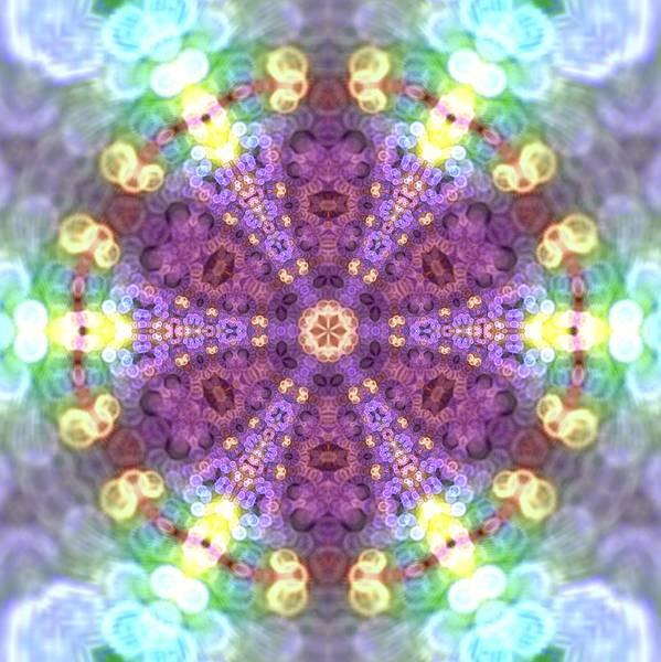 Digital Art - Lightmandala 6 Star by Robert Thalmeier