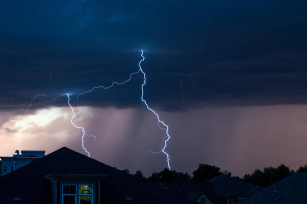 Photograph - Lightning 2 by Stephen Holst