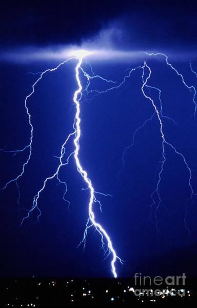 Photograph - Lightning Bolt by Kent Wood