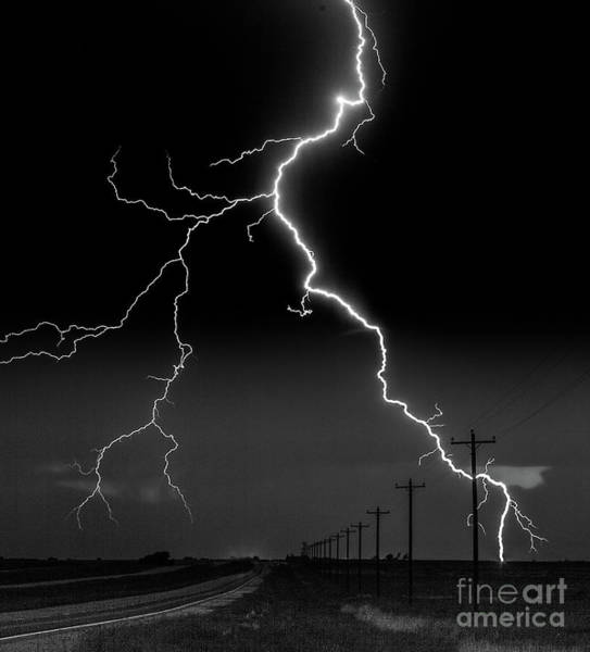 Photograph - Lightning Bolt by Patti Schulze