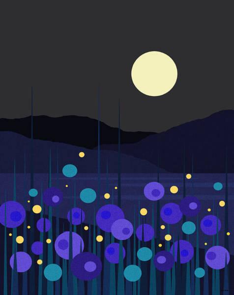 Digital Art - Lightning Bugs by Val Arie