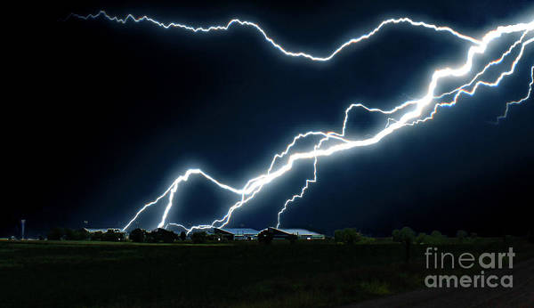 Photograph - Lightning  by Frank Vargo