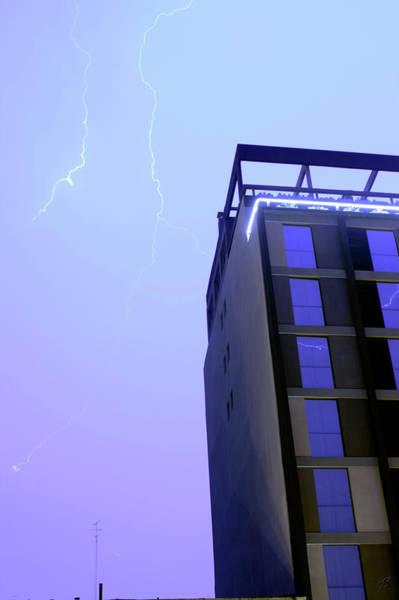 Photograph - Lightning On Rivadavia 4 by Balanced Art
