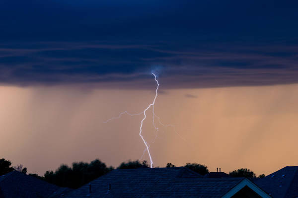 Photograph - Lightning by Stephen Holst