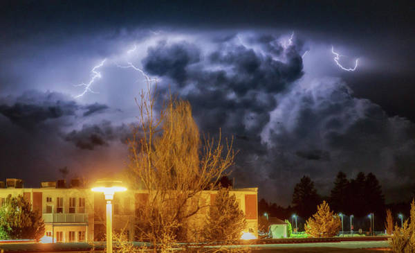 Wall Art - Photograph - Lightning Storm by Cat Connor