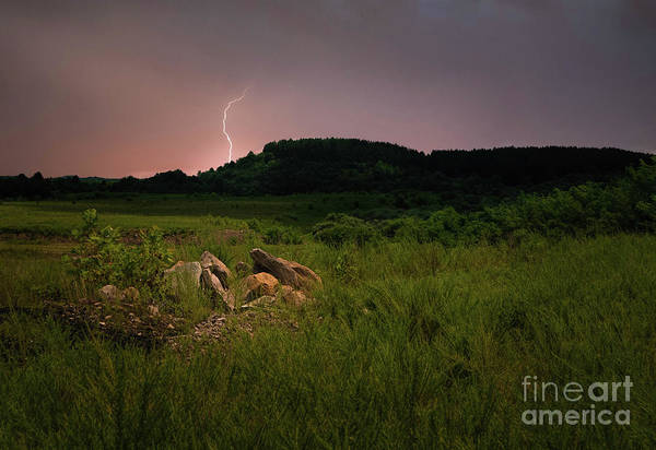 Wall Art - Photograph - Lightning Strike by Lena Auxier
