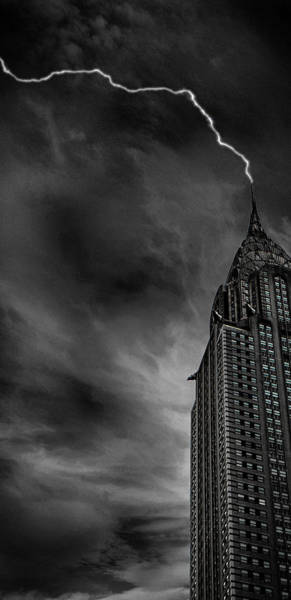 Lightning Bolt Photograph - Lightning Strike by Martin Newman