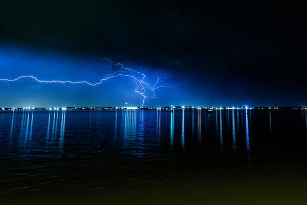 Photograph - Lightning Strike by Pete Federico