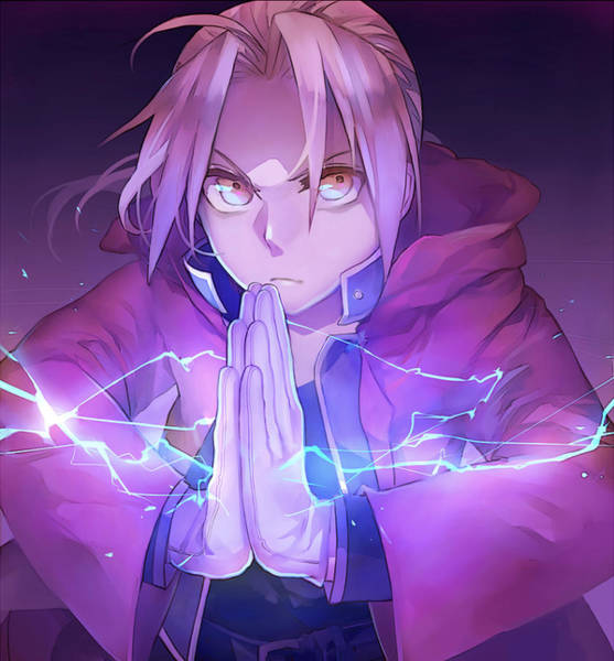 Wa Drawing - Lightning Thunder by Daba Labat