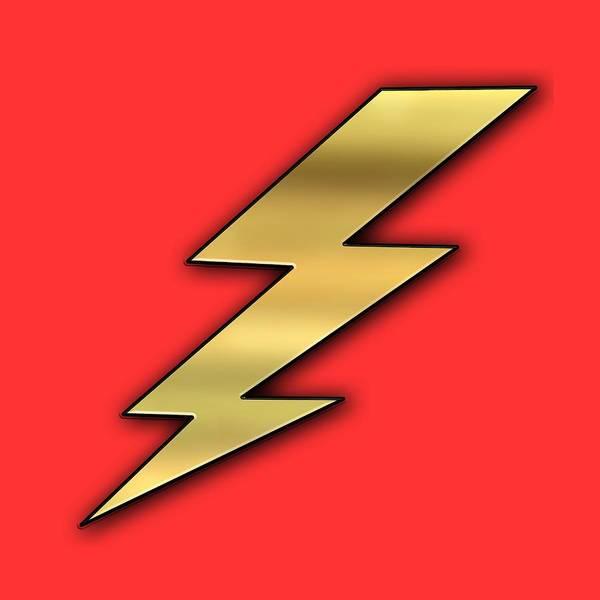 Digital Art - Lightning Transparent by Chuck Staley