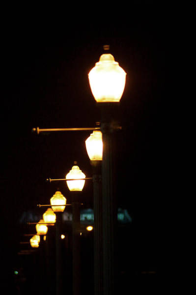 Wall Art - Photograph - Lights At Night by Angi Parks