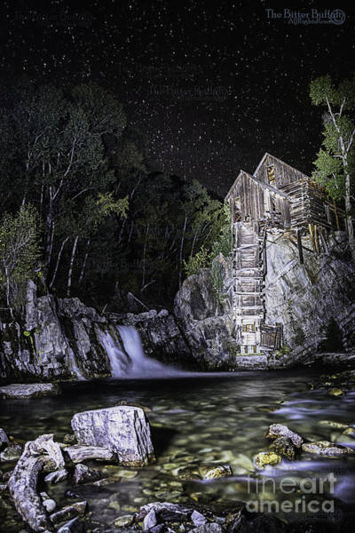 Photograph - Lights On The Mill by Bitter Buffalo Photography