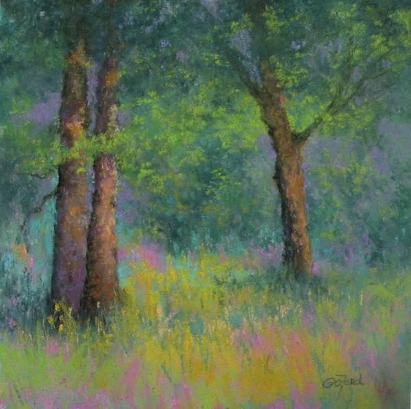 Wall Art - Painting - Light's Surprise by Paula Ann Ford