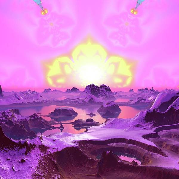Digital Art - Lightscape 23 by Robert Thalmeier