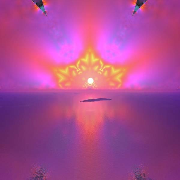 Digital Art - Lightscape 25 by Robert Thalmeier