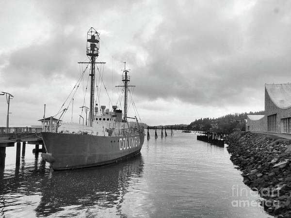 Floating Museum Photograph - Lightship Columbia by Scott Cameron