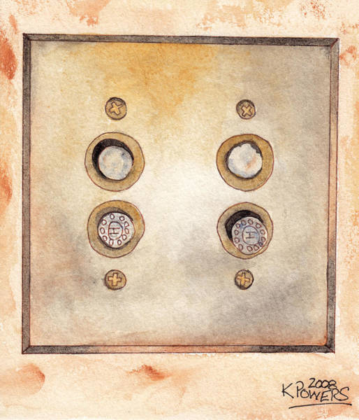 Painting - Lightswitch by Ken Powers