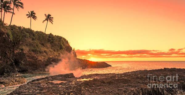 Photograph - Lihu'e Sunrise by Gary Beeler
