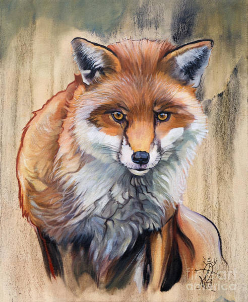 Painting - Like A Fox by J W Baker