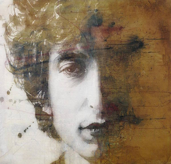 Wall Art - Mixed Media - Like A Rolling Stone  by Paul Lovering