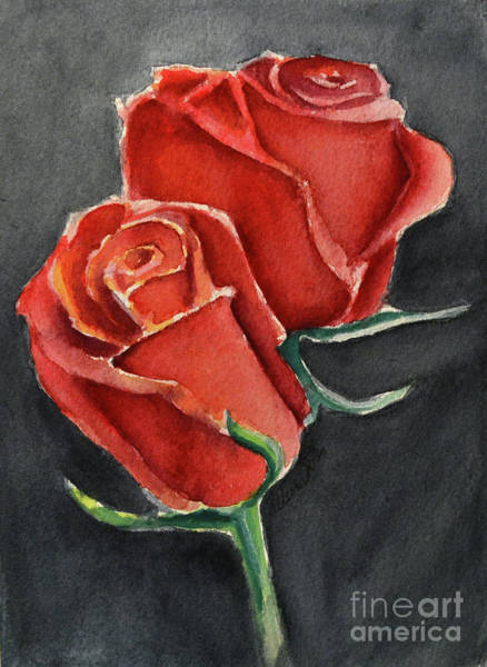 Painting - Like A Rose by Allison Ashton