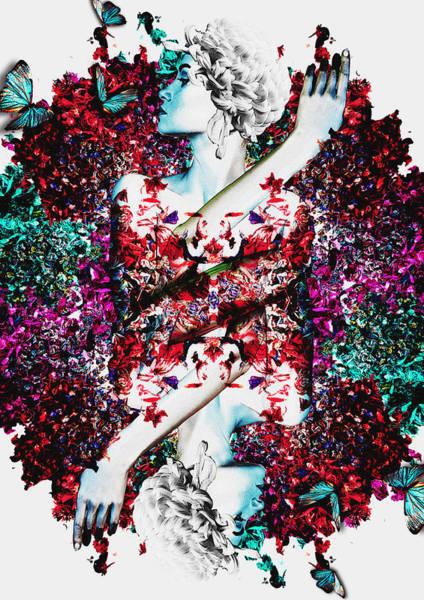 Flower Digital Art - Like Flowering Flowers by Arouse Works
